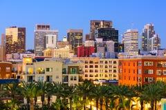San Diego Cityscape. San Diego, California, USA downtown city skyline stock image