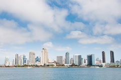 San Diego Cityscape. San Diego skyline and cityscape viewed from Coronado Island Royalty Free Stock Photography