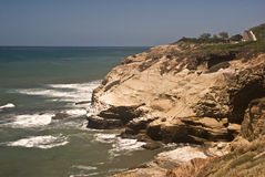 San Diego Coast. This is a picture of the coast off of San Diego from Cabrillo National Monument stock photos