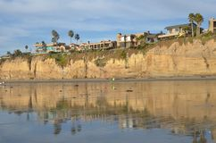 San Diego coastline Stock Images
