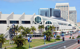 The San Diego Convention Center Royalty Free Stock Photos