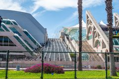 San Diego Convention Center - CALIFORNIA, USA - MARCH 18, 2019. San Diego Convention Center - CALIFORNIA, UNITED STATES - MARCH 18, 2019 royalty free stock image