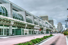 San Diego convention center. Convention center located in downtown San Diego, California Royalty Free Stock Images