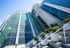 San Diego Convention Center. Part of the modern architecture of the San Diego Convention Center Stock Photo