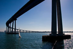 The San Diego-Coronado Bridge Stock Image