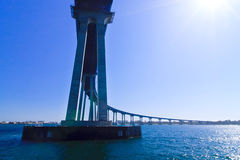 San Diego - Coronado Bridge Royalty Free Stock Photos
