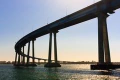 San Diego - Coronado Bridge Royalty Free Stock Photo