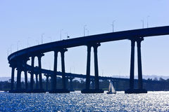 San Diego - Coronado Bridge Stock Photo