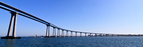 San Diego - Coronado Bridge Royalty Free Stock Image