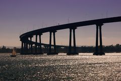San Diego-Coronado Bridge Stock Image