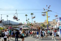 San Diego County Fair Scene Royalty Free Stock Photos
