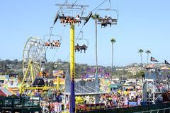 San Diego County Fair Scene. SAN DIEGO, CA -  JULY 2011:  Scene from the San Diego County Fair, formally called the Del Mar Fair on July 1, 2011 in San Diego Royalty Free Stock Images
