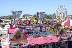 San Diego County Fair Scene Royalty Free Stock Photo
