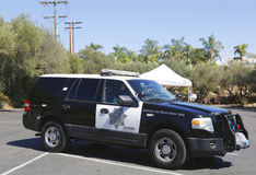 San Diego County Sheriff car. SAN DIEGO - SEPTEMBER 26, 2014 - San Diego County Sheriff car. The San Diego Police Department is the primary law enforcement Stock Photo