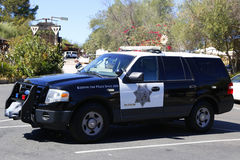 San Diego County Sheriff car. SAN DIEGO - SEPTEMBER 26, 2014 - San Diego County Sheriff car. The San Diego Police Department is the primary law enforcement Royalty Free Stock Photo