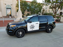 San Diego County Sheriff Vehicle Royalty Free Stock Photography