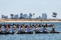 San Diego Crew Classic Royaltyfri Fotografi