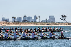 San Diego Crew Classic Fotografia de Stock Royalty Free