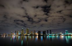 San Diego da baixa fotos de stock royalty free