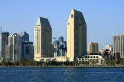 San Diego da baixa, Ca Fotografia de Stock