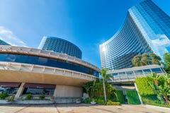 SAN DIEGO - 30 DE JULHO DE 2017: Skyline e construções de San Diego avante Imagens de Stock