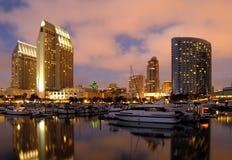 San Diego de stad in Stock Afbeeldingen