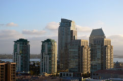 San Diego de stad in Royalty-vrije Stock Fotografie