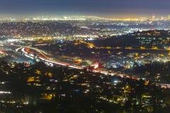 San Diego in die Stadt Ansichten gesehen von oben lizenzfreies stockfoto