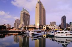 San Diego downtown marina Stock Images