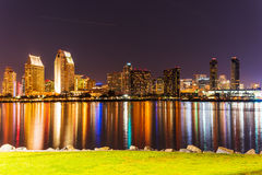 San Diego downtown seen from Coronado Stock Images
