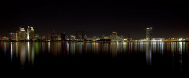 San Diego downtown skyline Stock Image