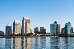 San Diego Downtown Skyline at Dawn royalty free stock photos