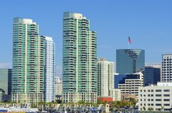 San Diego du centre, la Californie Image libre de droits
