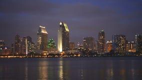 San Diego e lungomare stock footage