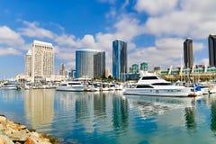 San Diego Embarcadero Royaltyfri Bild