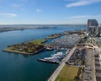 San Diego Embarcadero Stock Photo