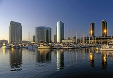 San Diego, Embarcadero Marina, California Royalty Free Stock Photography