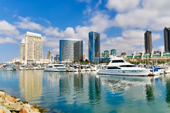 San Diego Embarcadero royalty free stock image