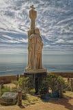 San Diego, Estados Unidos de América abril 14,2016: Monumento nacional de Cabrillo no ponto Loma Peninsula Imagens de Stock