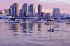 San Diego Evening Royalty Free Stock Images