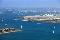 San Diego fjärd Royaltyfri Bild