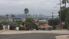 San Diego från ett avlägset Royaltyfria Bilder