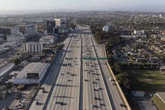 San Diego 405 Freeway Aerial Royalty Free Stock Images