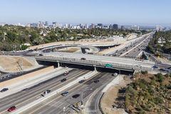 San Diego Freeway Day Royaltyfri Foto