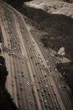 San Diego Freeway Los Angeles imagens de stock
