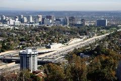 San Diego Freeway Los Angeles imagem de stock royalty free