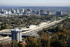 San Diego Freeway Los Angeles Royalty Free Stock Image