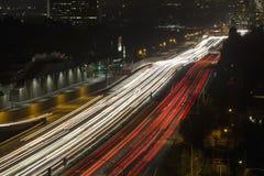San Diego Freeway in West Los Angeles Stock Photos