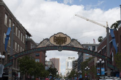 San Diego Gas Lamp District Images libres de droits