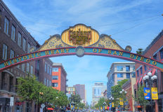 San Diego Gaslamp Stock Images